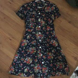 Rugby Ralph Lauren Dresses - 100% silk Super flattering sundress/casual dress